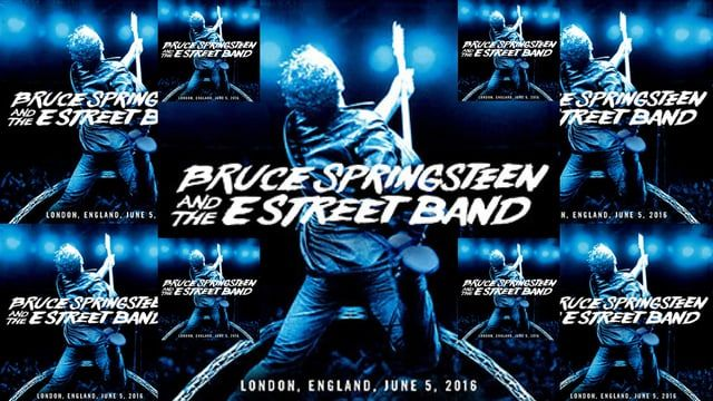 Bruce Springsteen & The E Street Band - Wembley Stadium, London, England - 2016-06-05