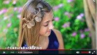 Sevimli Saç Örgüsü Kız Çocuklar İçin