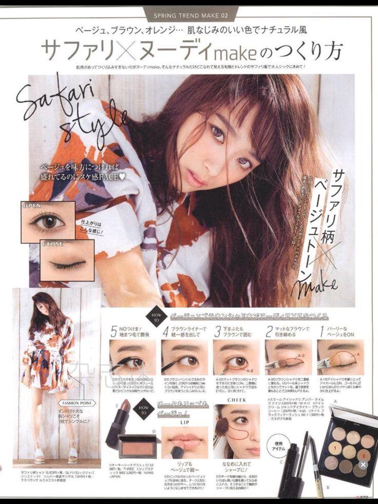SCawaii gyaru make up 2016