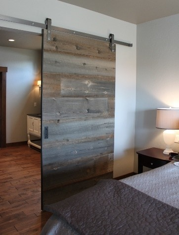 barn wood barn door :)