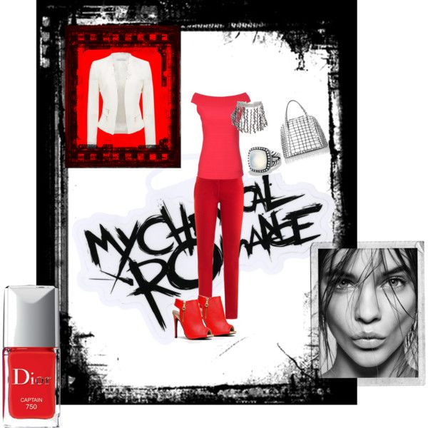 """""""I love: RED"""" by nikita-17 on Polyvore"""