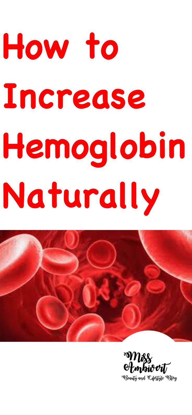 How to increase haemoglobin naturally miss ambivert
