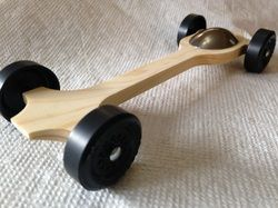 Winning Pinewood Derby Car Kits  Http://www.derbydust.com Brings another track burner. Meet Car Canopy #4.    Extended wheel base, 13 gram body with quick start front end.  Can accommodate both tungsten and lead canopies.