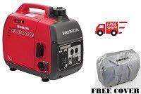 A valid drivers license image will be required for the purchase of this unit matching the shipping address before this item can be shipped out.                                                                                                                                                                                                                                            Honda EU2000i Generators  only weighs 46.3 lbs. This EU2000i Honda Generator utilizes Honda's ingenious technology to…