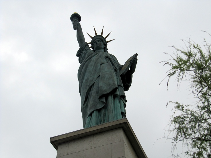 The Statue of Liberty in Paris!