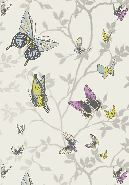 Anna French- Seraphina- Seraphina Metallic Silver shop.wallpaperconnection.com