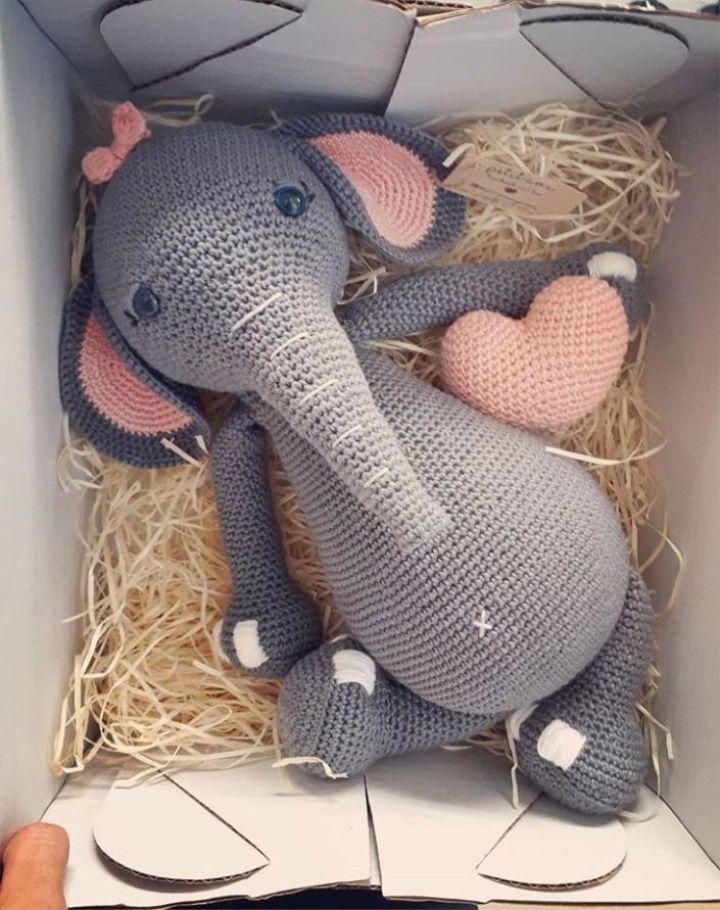Amigurumi Elephant Pattern | Crochet Me!! | Amigurumi