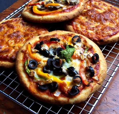 healthy vegan gluten-free pizza crust