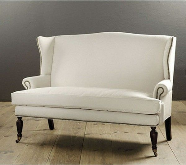 Couches and benches white idea design