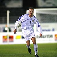 12.10.2002, Olympic Stadium, Helsinki, Finland..UEFA European Championship Qualifying match, Group 9, Finland v Azerbaijan..Petri Pasanen - Finland.©Juha Tamminen