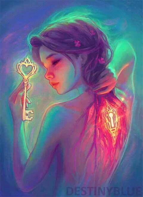 la llave de mi alma, y de mi corazón... de ahora en más, solo se la será de quién termine de demostrar que se la merece..