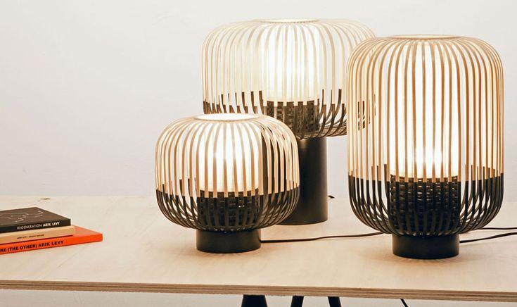 Bamboo Small Table Lamp - Global Lighting
