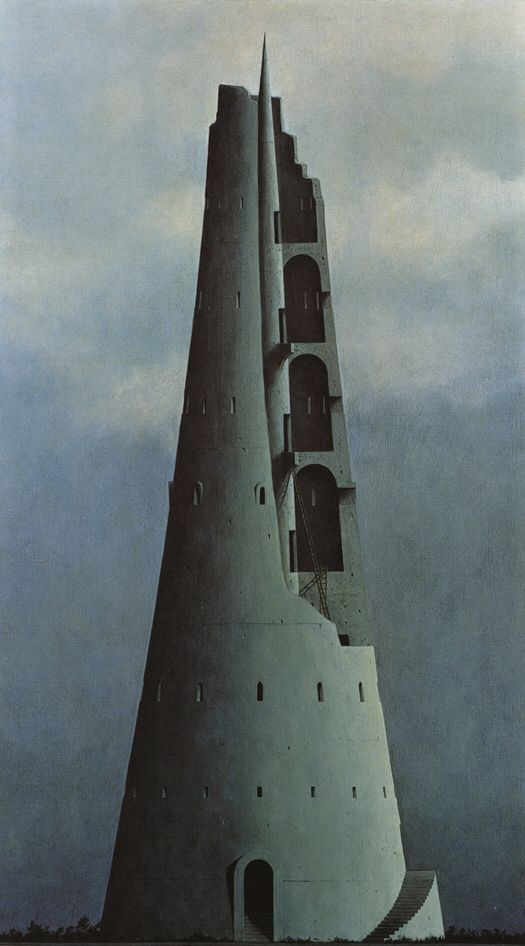 Painting by Minoru Nomata