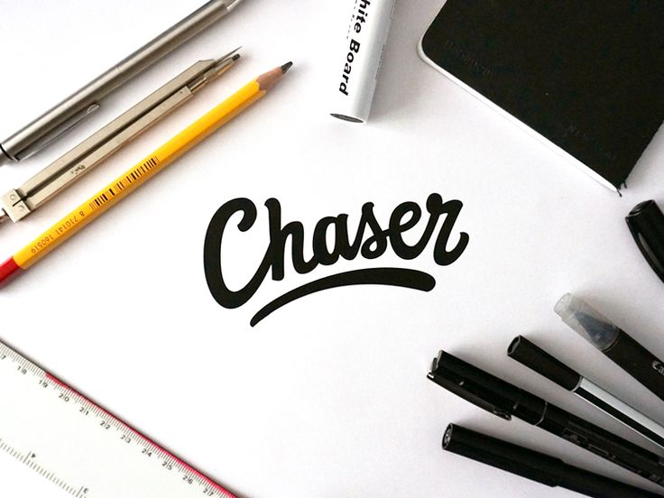 Chaser | Logo by Paul von Excite