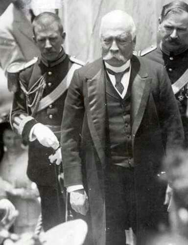 Gral Diaz, 1908