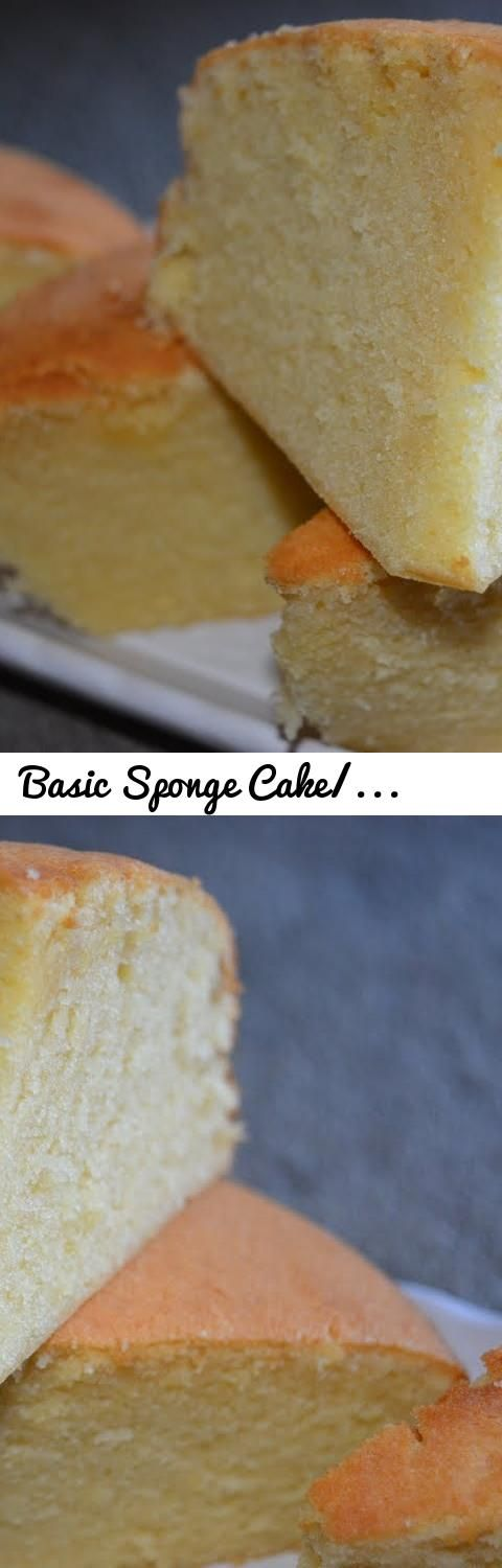 Basic Sponge Cake/Vanilla cake recipe (in Tamil with English subtitles)... Tags: