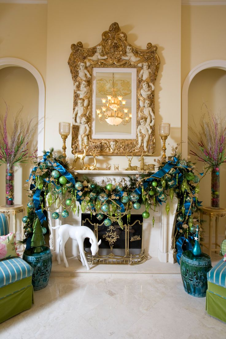 17 Best images about Christmas Holiday Mantels on ...