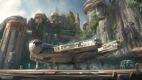 Star Wars Land is coming to the Disney Parks! Woo hoo!