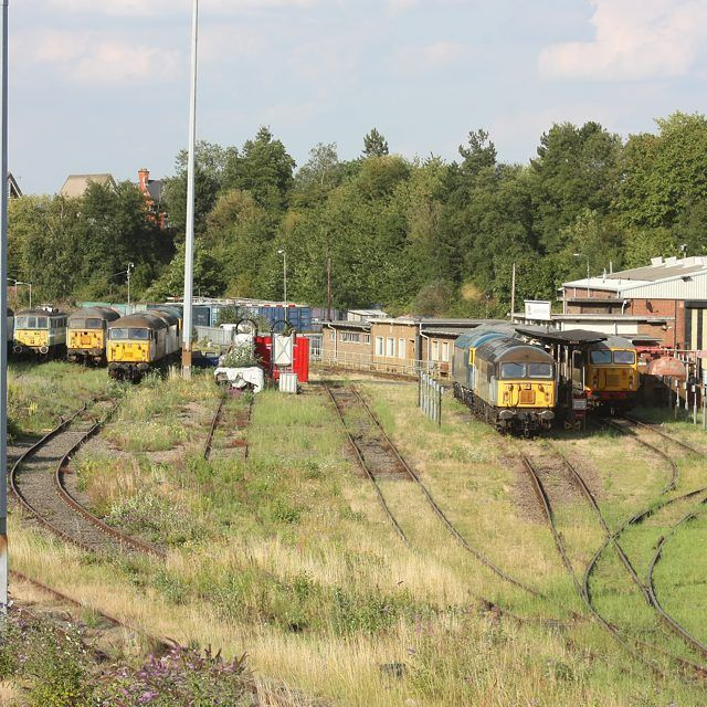 8/8/15 UKRLs Leicester Depot. Fantastic to see so many Grids here. It is ironic to remember the brand spanking new Tugs stabled here 25 years ago. Now over half the class languish at Toton !  #ukrailscene #train_nerds #loves_transports #tv_transport #rail_barons #class56 #pocket_rail #Trains_Worldwide #heyfred_lookatthis #rsa_trains #jj_transportation #tv_transport #hdr_transports #trb_express #uktrains #travel #transport #train #trains #ig_trainspotting #travelling #railway #eisenbahnfieber…