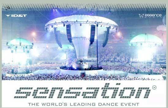 Sensation White, The worlds leading dance event