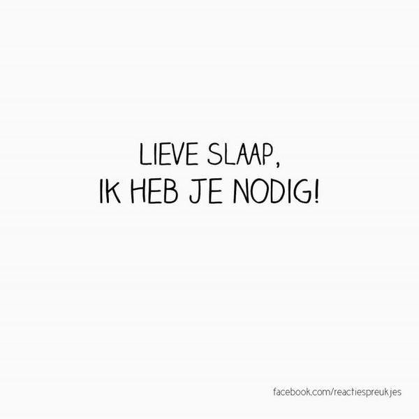 #spreuk #citaat #nederlands #teksten #spreuken #citaten #slaap #slapeloosheid #grappig