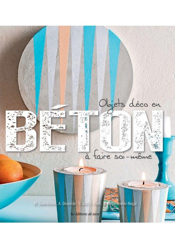 Objets déco en Béton à faire soi-même