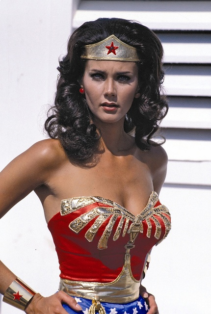 If there was such a thing as reincarnation, I wanted to come back as Lynda Carter or Susan Anton.