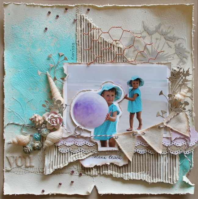 MIxed Media page for Scrapbook News and Review magazine  http://scrapbooknewsandreview.com/