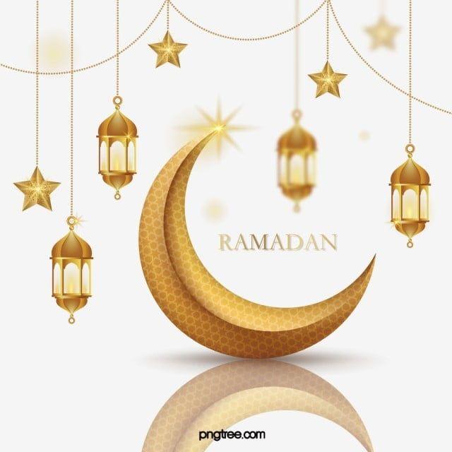 ذهبية رمضان الملمس ثلاثي الأبعاد شنقا النجوم القمر سلسلة انعكاس الحدود ذهبي رمضان القمر Png والمتجهات للتحميل مجانا In 2021 Hanging Stars Flower Frame Print Design Template