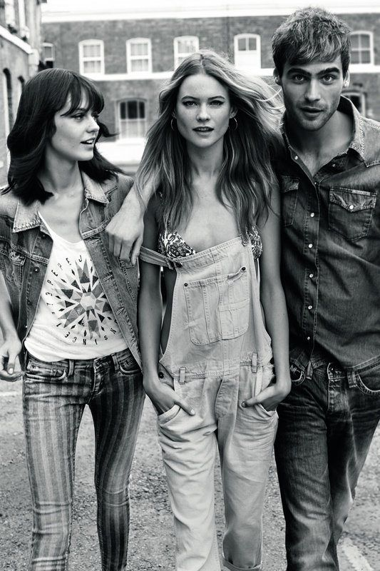 pepe jeans spring 2014 campaign7 Behati Prinsloo Stars in Pepe Jeans London Spring/Summer 2014 Campaign
