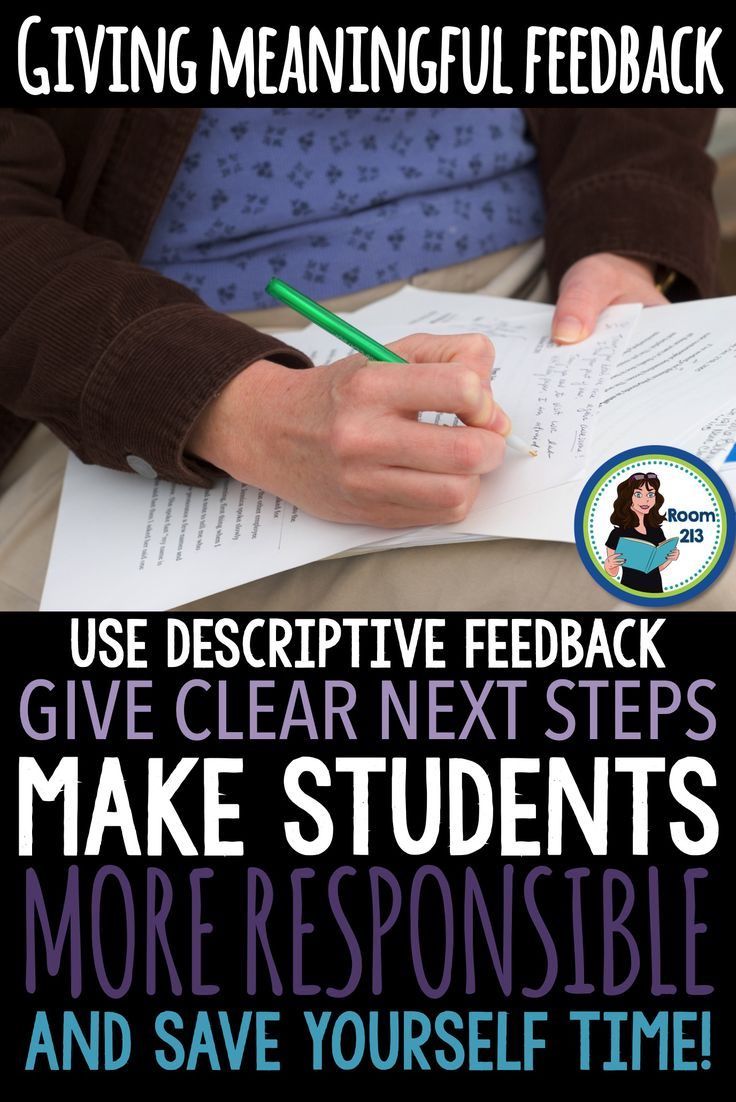 Are you wasting your time marking and giving feedback? Read this blog post by ROOM 213 to get strategies for making feedback more meaningful in a way that won't bury you under paper.