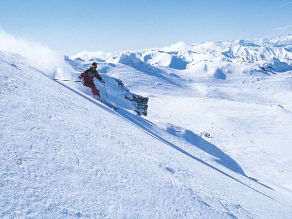 how to see snow in queenstown