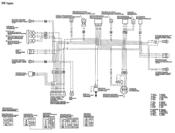 Wiring Diagram Honda Xr650ry Dk Type Electric