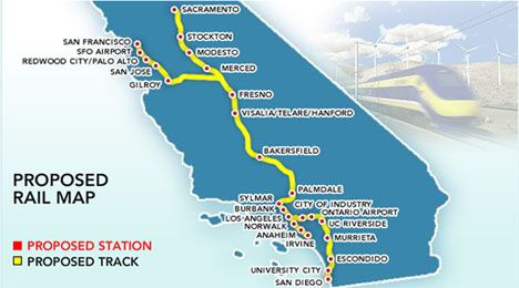 The KetchUp: California High Speed Rail Moving Along