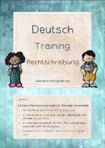 Lernzieltraining Deutsch: Rechtschreibung