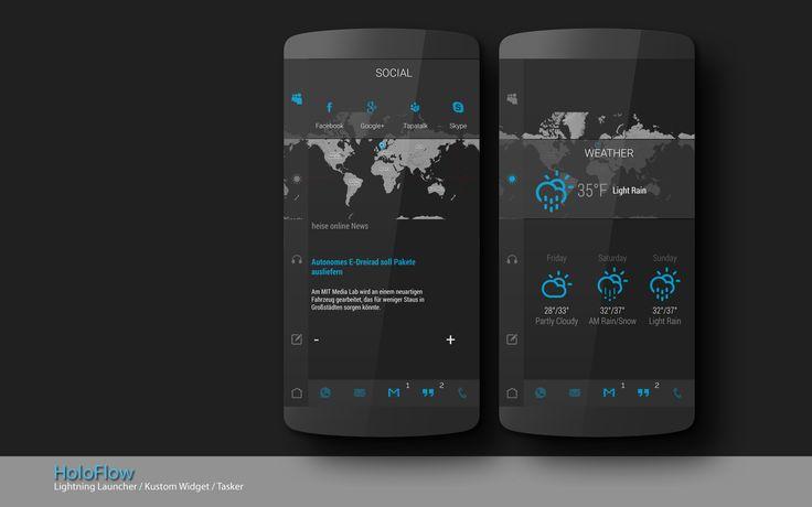 holoflow Android Homescreen