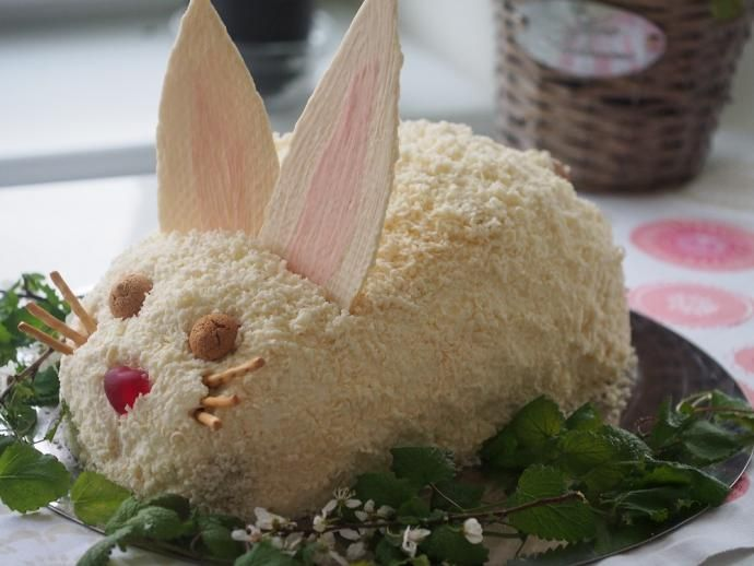 Biały króliczek #Wielkanoc #recipe