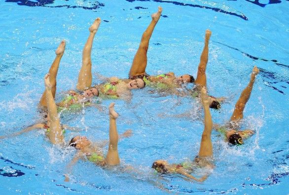 Olimpiadi 2012 - Nuoto sincronizzato e falsi kit Nike, atlete che pagano per l'attrezzatura  - #Fake kit #Nike