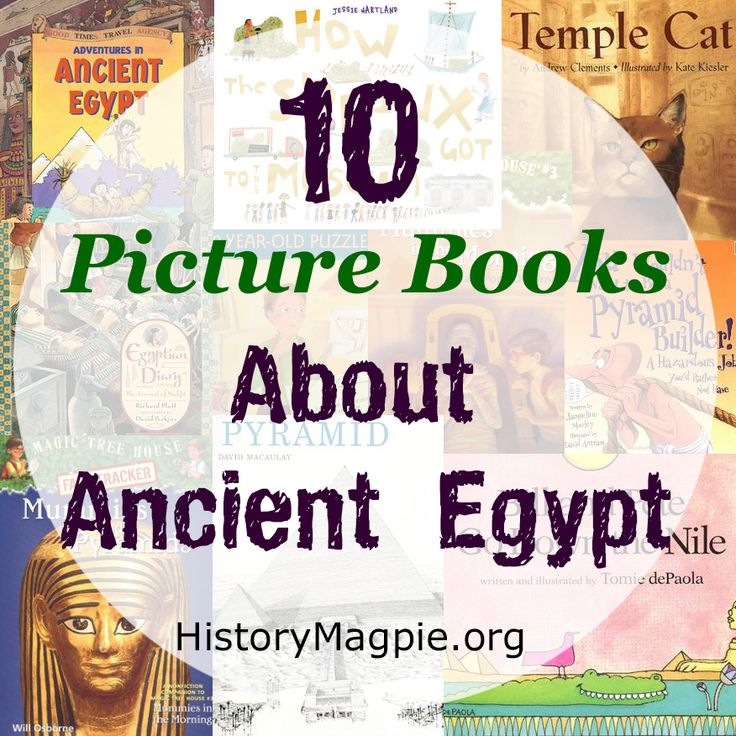 Ancient Egypt Book List by History Magpie