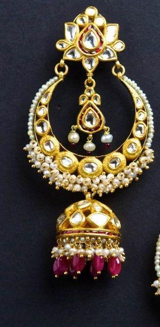 .Chand bali earrings