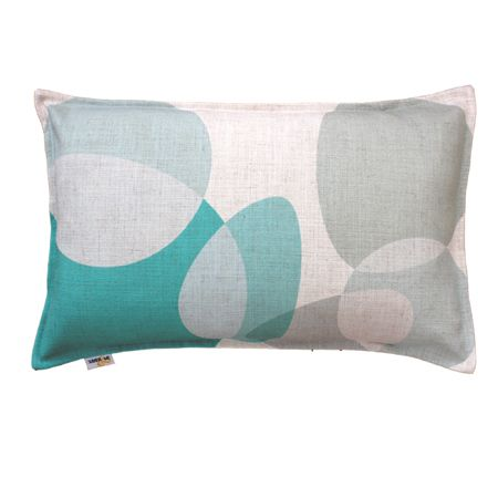 Eclipse Cushion in Mint Green