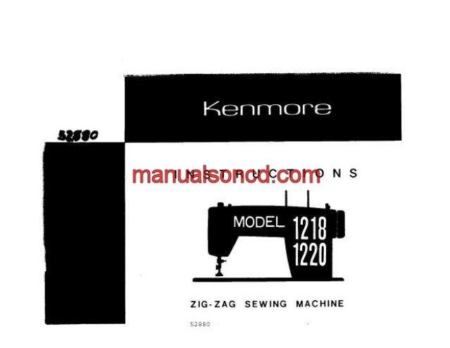 kenmore sewing machine troubleshooting bobbin thread