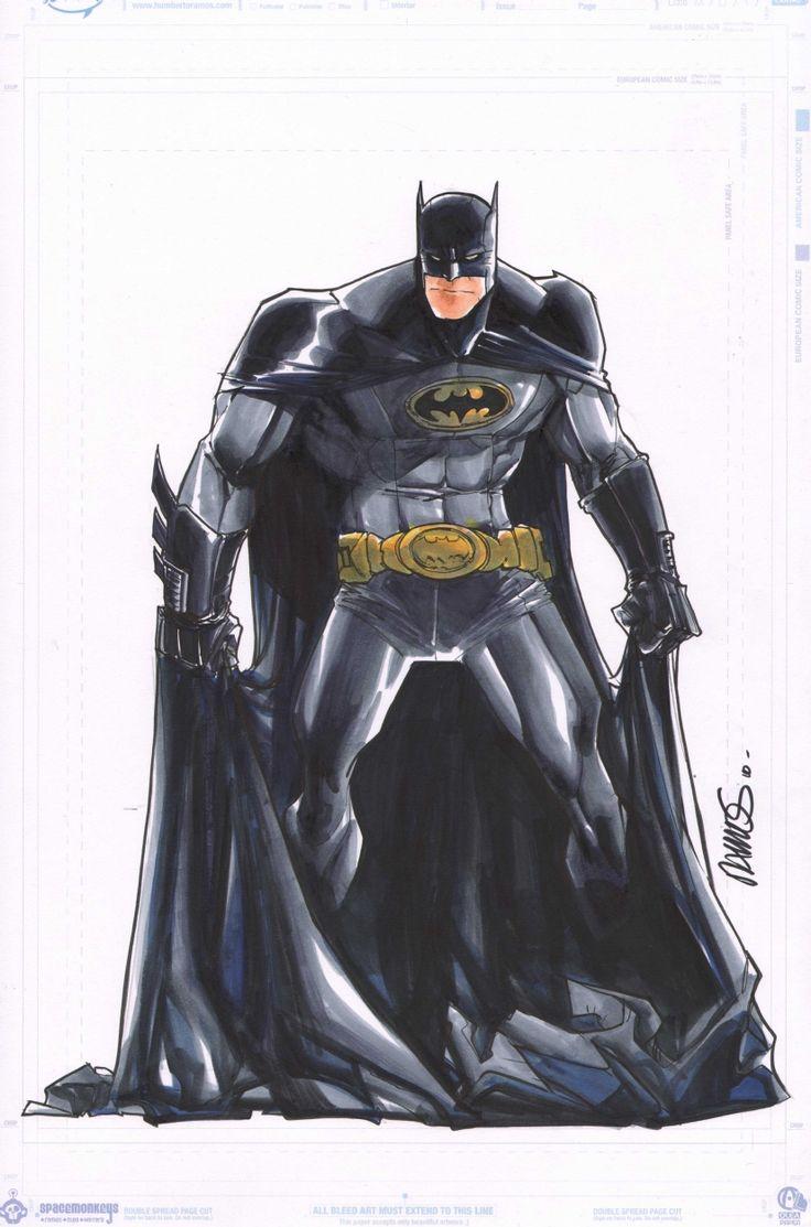 Humberto Ramos Art | Batman | Humberto Ramos
