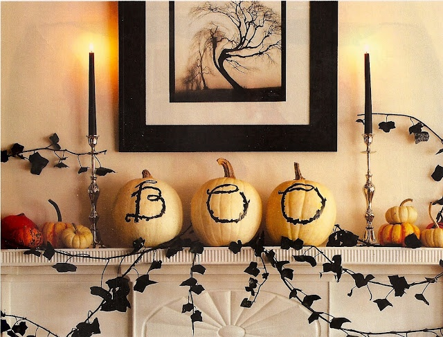 94 best decorating ideas halloweenfall images on pinterest halloween stuff happy halloween and halloween crafts - Classy Halloween Decorations