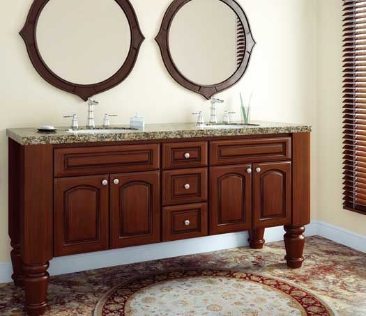 Fieldstone Cabinetry Madison Door Style In Cherry Finished
