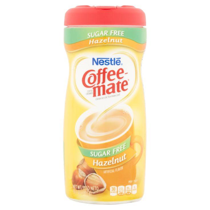 Coffee mate sugar free hazelnut powder coffee creamer 102