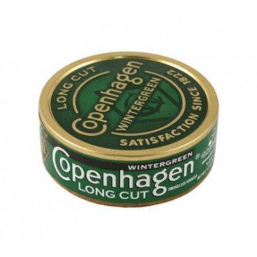 Copenhagen Wintergreen, 1.2oz, Long Cut - Copenhagen - American Snuff   sexy crap   Pinterest ...