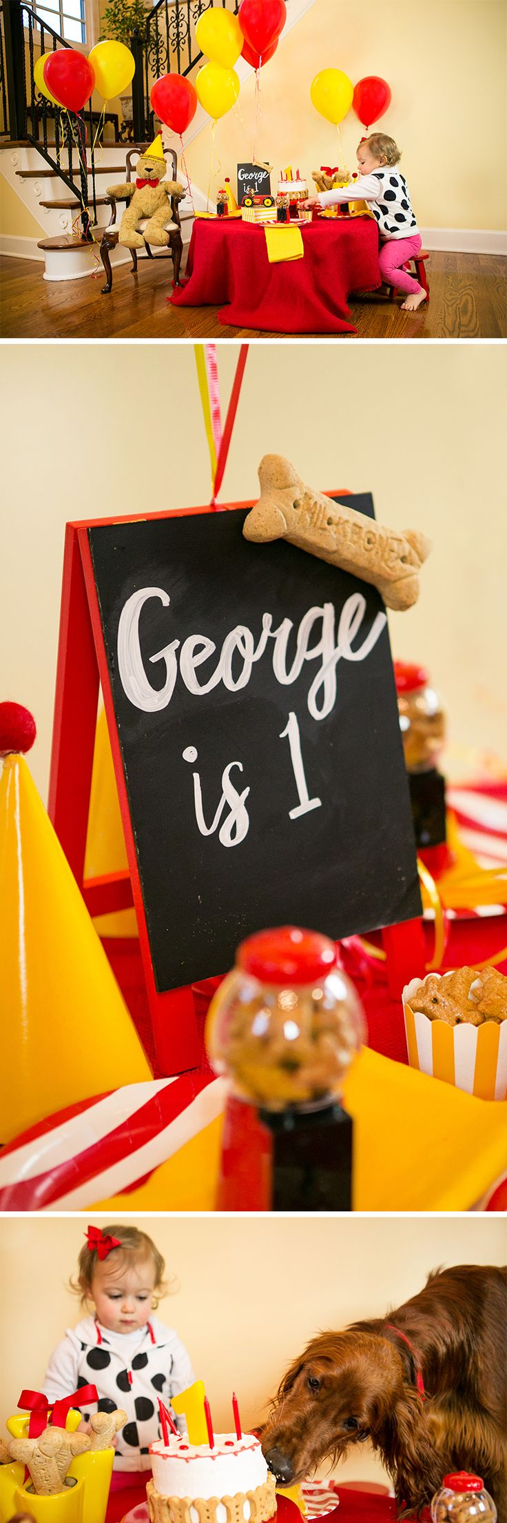 A Puppy Pawty: Curious George Turns 1