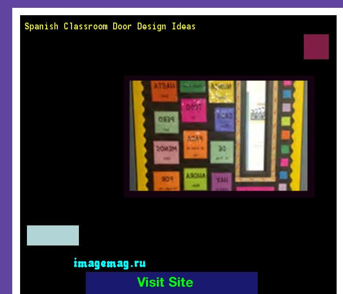 Spanish Classroom Door Design Ideas 131700 - The Best Image Search