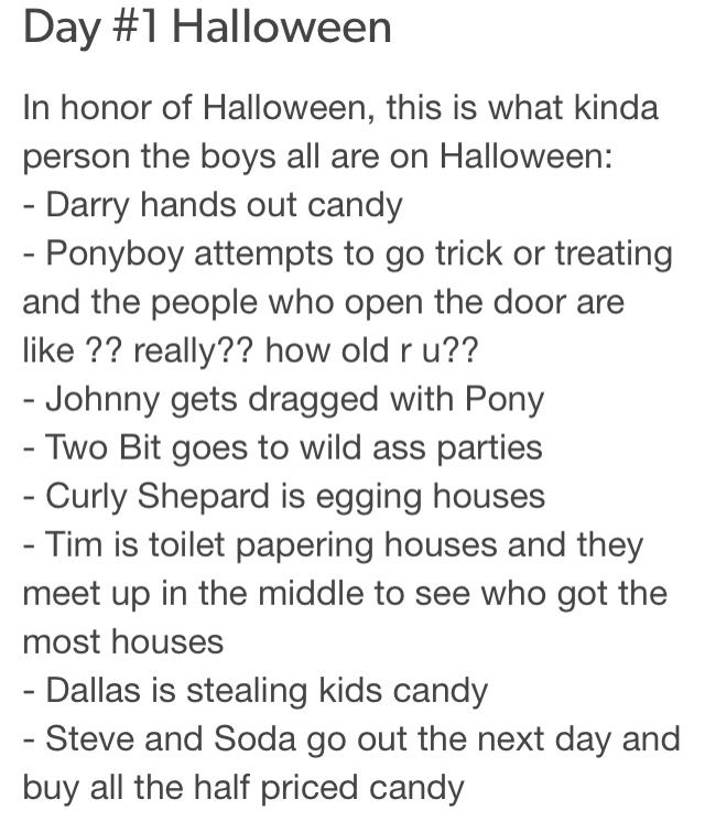 I actually think that Soda and Steve would Trick-Or-Treat with PB & J